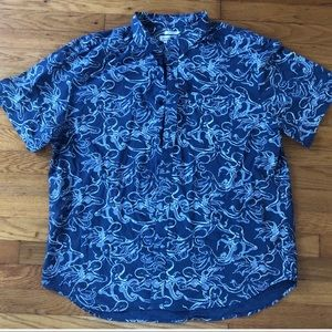 Men's Old Navy short sleeve button down shirt XXL